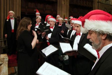 74.Christmas Concert for Nightingale House Hospice in Eaton Hall Chapel - 20th December