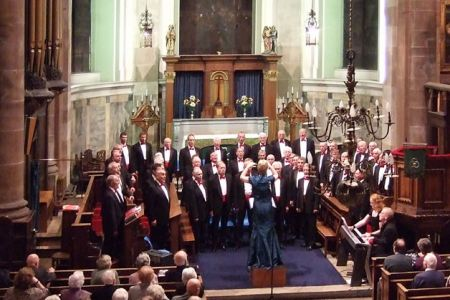 56.Concert in St Alkmunds Church, Whitchurch, Shropshire - 18th October.