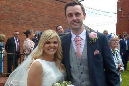 14C. The happy couple Chris and Bethan Wycherley who's wedding we were honoured to be a part of at Bethel chapel Ponciau on the 1st August 2019. May we all wish you a happy and prosperous life together.