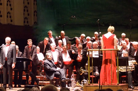 World In Union at the Liverpool Philharmonic Hall Soloist Ann Atkinson