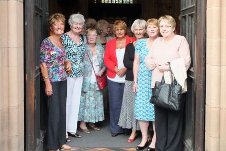 46.Choristers wives at St Laurence Church Ludlow to hear the Choir perform at a Ludlow Arts Festival Concert - 21st June