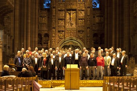 06.Rehearsal in the Liverpool Anglican Cathedral - 3rd March