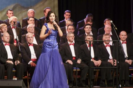 Margaret Keys at the Wrexham Autumn Tour Concert