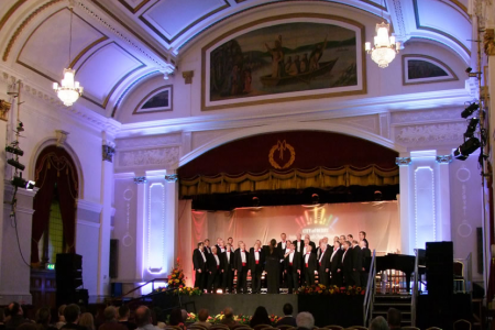 Performing Tom in the Male Voice Competition