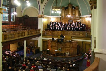 71.Christmas Concert in the Darlington Street Methodist Church Wolverhampton - 8th December