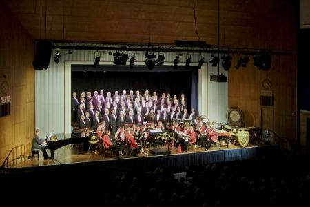 60.Voice and Brass concert in the William Aston Hall Wrexham with the Foden Band