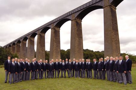 The Choir at Pontcysyllte Aqueduct