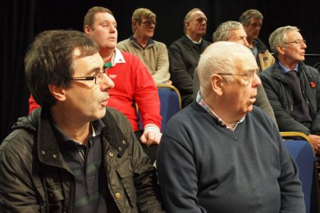 91.Second Tenors at the William Aston Hall rehearsal