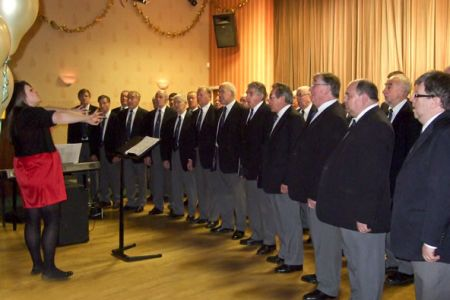 75.Performance at the Air Products Social Club Christmas Concert 16th December