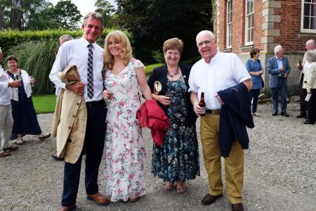 Jan and Wyn Morris with Rose and John Jones
