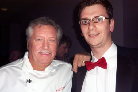 Brian Turner with fellow Chef Matthew Hayward