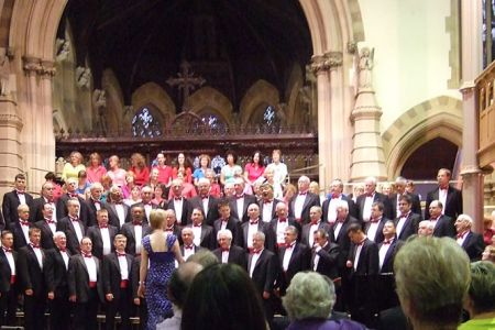 28.Concert with the Royal Free Singers in Windsor Parish Church 30th June