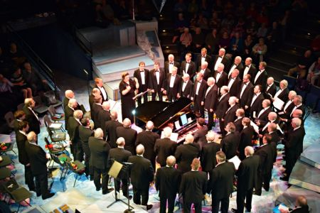 98.Christmas Concert in the New Vic, Newcastle under Lyme