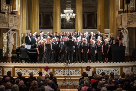 57.Joint performance with Mersey Wave, Wrexham Charity & Kathryn Rudge in St George's Hall Liverpool, at the Royal British Legion concert The Somme & Beyond - 1st July