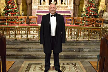 94.Alan Crofts joins the Choir as a full member at the Stepping Stones Concert - 13th December