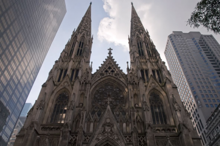St Patrick's Cathedral 5th Avenue New York - 24th August