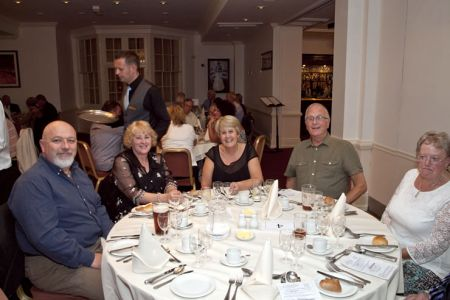 68.The Choir Dinner held at the Wynnstay Hotel in Oswestry - 3rd October