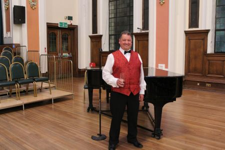 08c. Rob Edwards makes his debut as a second tenor after changing sections within the choir.