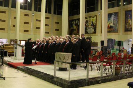 04C. The Choir performing at St Ambrose church 22/02/19