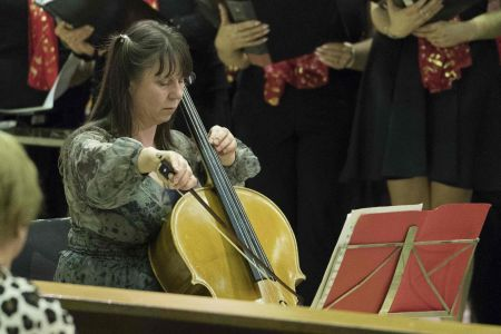 04F. Our Guest Cellist performs at St Ambrose church Speke