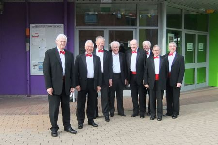 27.Rolly, Dulyn, Tudor, Den, Glyn, Bob, Barry and Sam at the Oakengates Theatre - 30th May