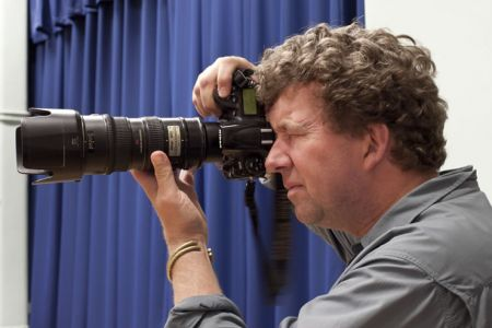 17.Jad Davenport, photojournalist from the Smithsonian Magazine visiting the rehearsal on the 19th of April
