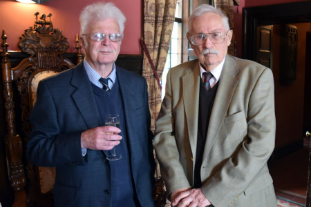 Bill Evans and Frank Rowlands (Founder Members)