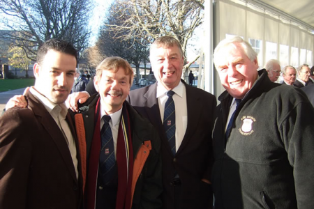Jon Cohen, Allan Smith, Sam Hughes and Bryn Lloyd Jones.