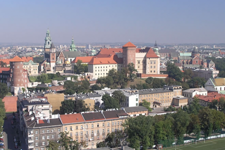 The city of Krakow.