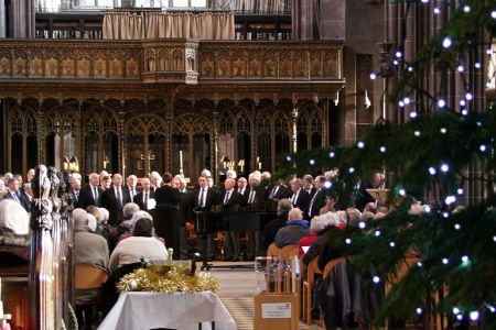 65.A Star for Christmas Midday Concert for Age UK in Manchester Cathedral - 1st of December