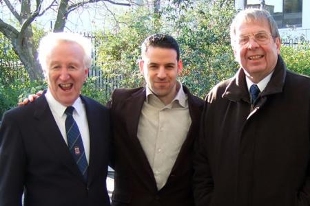 Dennis, Jon and Trevor