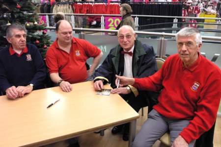 Instore Encore Promotion and cover signing Wrexham Tesco Superstore 1st December
