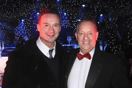 Russell Watson with Berwyn
