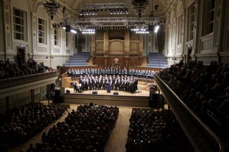 57.Concert at the Ulster Hall Belfast with the Donaghadee MVC and Margaret Keys - 3rd November