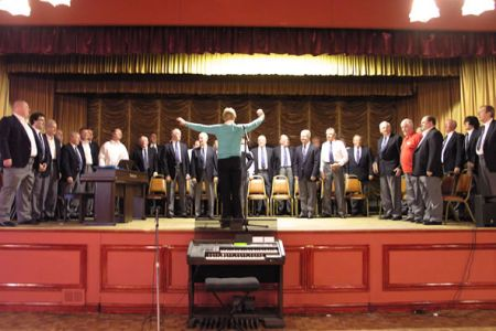 29.Practice for the Concert in Llay Royal British Legion organised in support of local charities - 6th June.