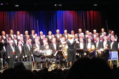 61.On stage with Fine Arts Brass, 21st November, in the Wm Aston Hall, Wrexham