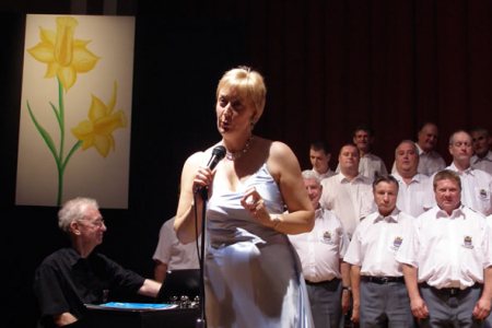 Ann and the Choir