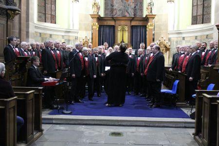 07D. In concert at St Alkmunds Church Whitchurch 23/03/19
