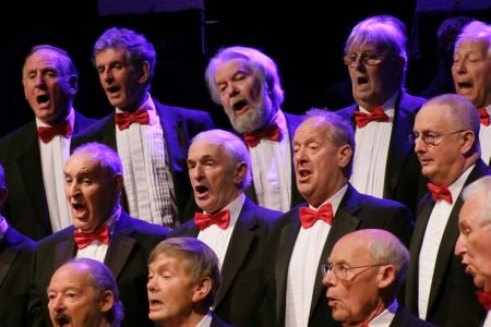 29.Tenors in the Oakengates Theatre