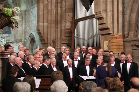 49.Concert in St. Mary's Church, Betws y Coed for the Snowdonia Festival - 6th October