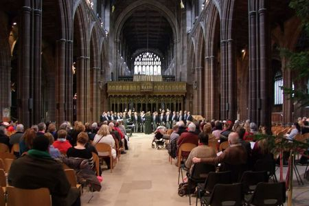 99c.A Star for Christmas Concert in Manchester Cathedral 6th December