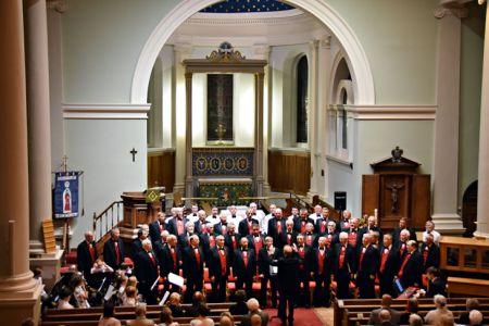 81.Practice for the Bridgnorth Mayor's Charity Concert