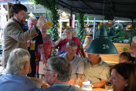 Salzburg Beer Garden for a relaxing evening