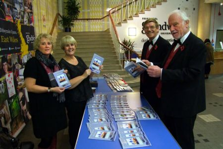 72.Programme Sales in the William Aston Hall, Wrexham