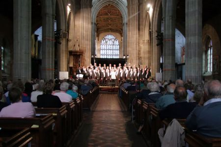 38.Ludlow Festival Concert in the magnificent  St Laurence's Church - 30th June