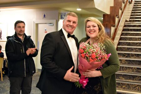 14,Bouquet for Leigh from the Mersey Wave Choir