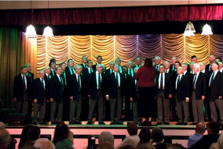 18.Choir's Charity Concert in Llay Royal British Legion Club 14th June