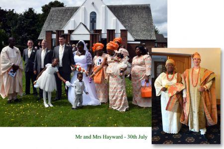 69.Mr and Mrs Hayward