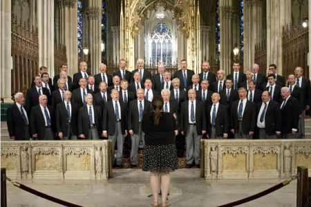 Concert performance in St Patrick's Cathedral, 5th Avenue - 24th August