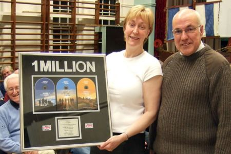 05.Presentation to Ann from Universal Classics and Jazz to commemorate 1 million CD sales Practice 19th of February